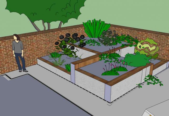 Jens-model-front-garden-version-2-isometric